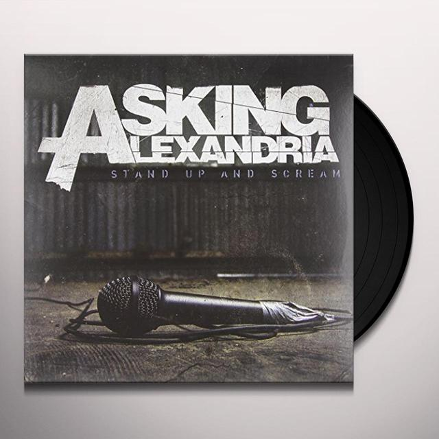 Asking Alexandria STAND UP & SCREAM Vinyl Record