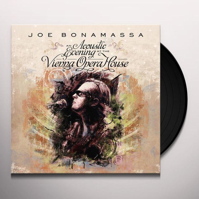 Joe Bonamassa ACOUSTIC EVENING AT THE VIENNA OPERA HOUSE Vinyl Record