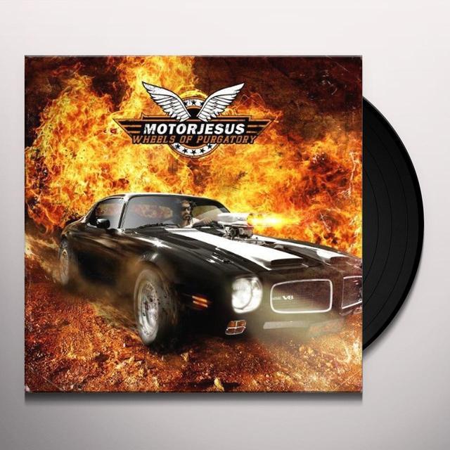 Motorjesus WHEELS OF PURGATORY (BONUS CD) Vinyl Record