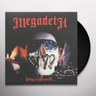 Megadeth KILLING IS MY BUSINESS Vinyl Record - UK Import