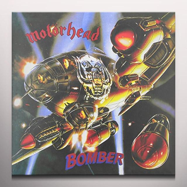 Motorhead BOMBER Vinyl Record - Colored Vinyl, Limited Edition