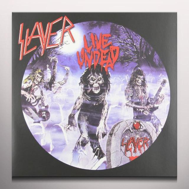 Slayer LIVE UNDEAD / HAUNTING THE CHAPEL Vinyl Record - Colored Vinyl, Limited Edition