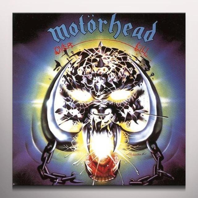 Motorhead OVERKILL Vinyl Record - Colored Vinyl, Limited Edition
