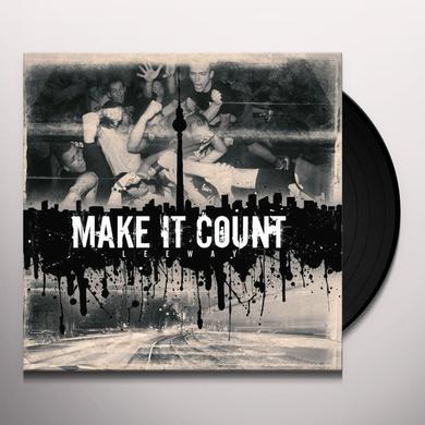 Make It Count LEEWAY Vinyl Record