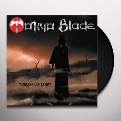 Tokyo Blade THOUSAND MEN STRONG Vinyl Record