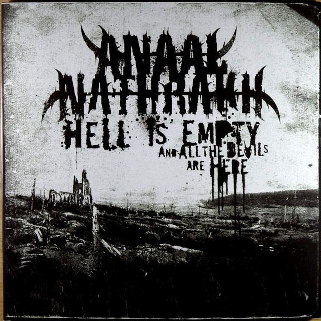 Anaal Nathrakh HELL IS EMPTY Vinyl Record