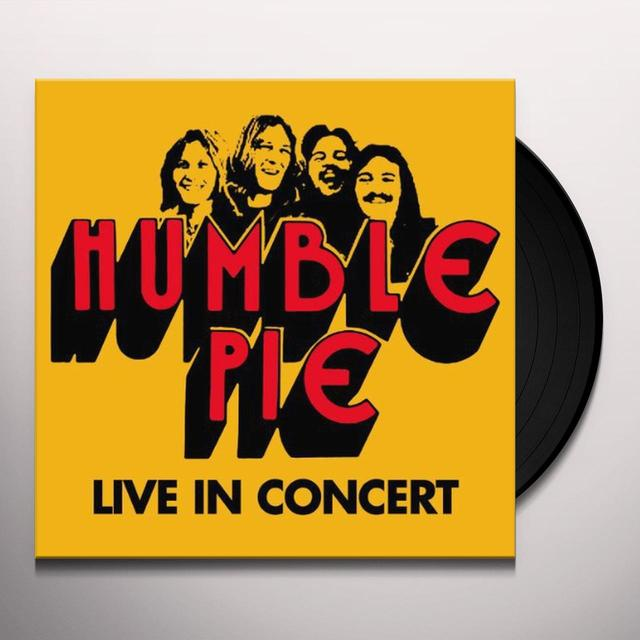 Humble Pie LIVE IN CONCERT (Vinyl)