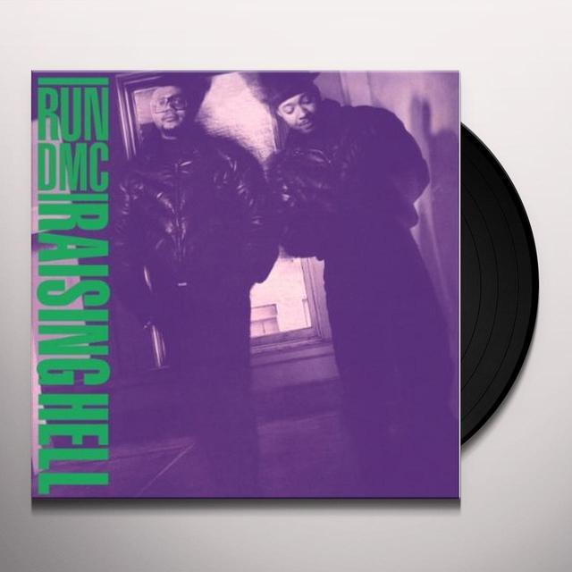 Run-Dmc RAISING HELL Vinyl Record - Holland Import