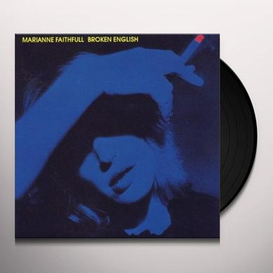 Marianne Faithfull BROKEN ENGLISH (GER) Vinyl Record