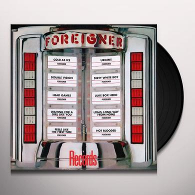 Foreigner RECORDS-GREATEST HITS Vinyl Record - Limited Edition, 180 Gram Pressing, Anniversary Edition