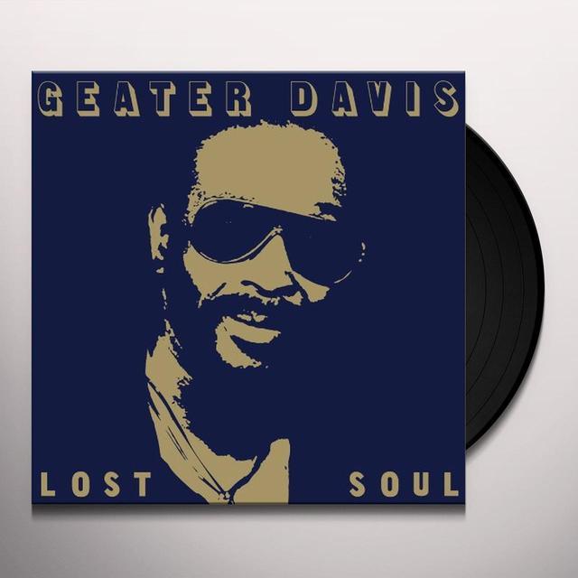 Geater Davis LOST SOUL Vinyl Record - Digital Download Included