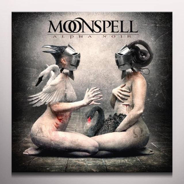 Moonspell ALPHA NOIR / OMEGA WHITE Vinyl Record - Colored Vinyl