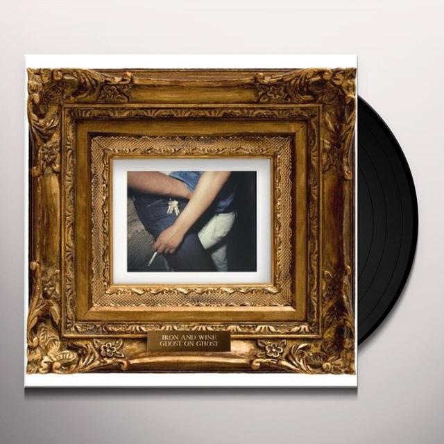 Iron & Wine GHOST ON GHOST (BONUS CD) Vinyl Record