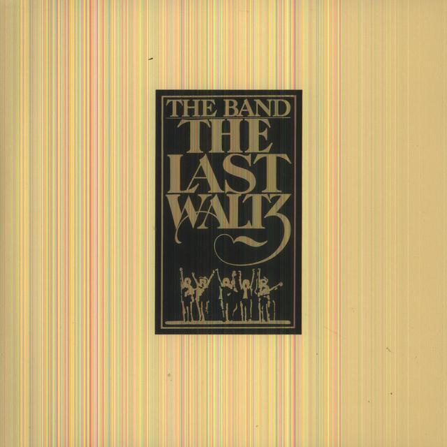 The Band LAST WALTZ Vinyl Record