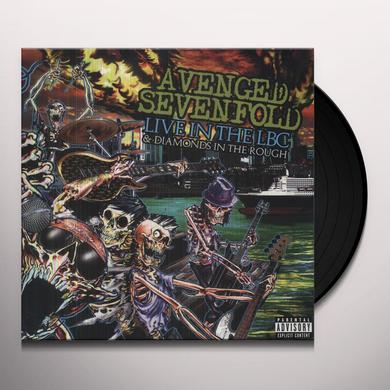 Avenged Sevenfold LIVE IN THE LBC & DIAMONDS IN THE ROUGH Vinyl Record