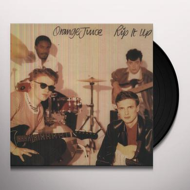 Orange Juice RIP IT UP Vinyl Record - Digital Download Included