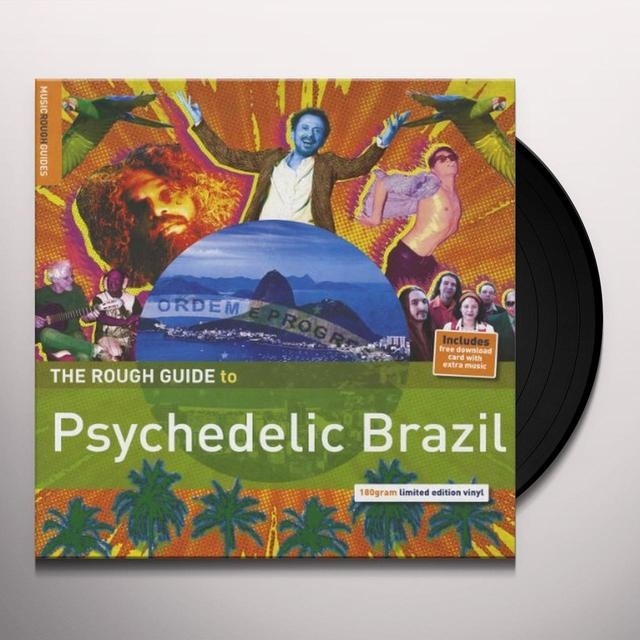 Rough Guide To Psyhedelic Brazil / Various (Dlcd) ROUGH GUIDE TO PSYHEDELIC BRAZIL / VARIOUS Vinyl Record - 180 Gram Pressing
