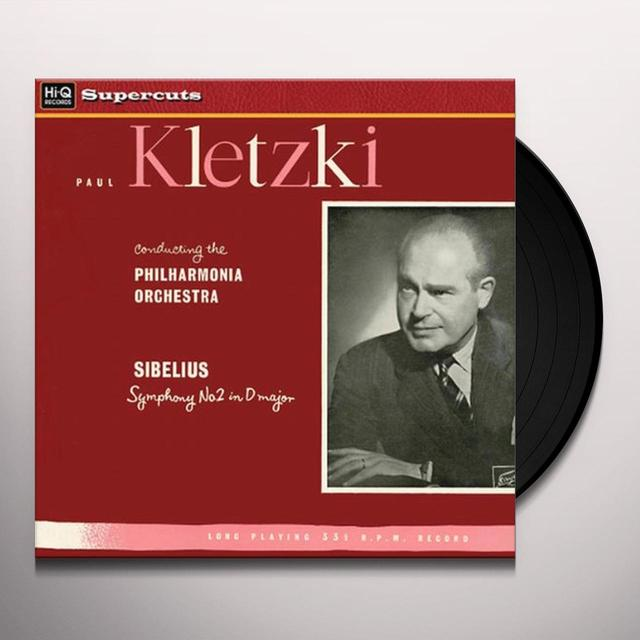 Paul / Philharmonia Orchestra Kletzki SIBELIUS SYMPHONY 2 IN D MAJOR Vinyl Record