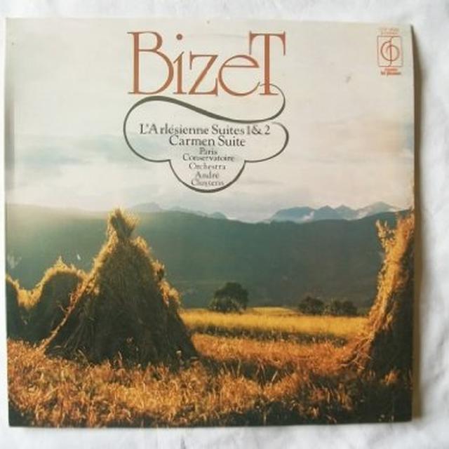 Herbert Von / Philharmonia Orchestra Karajan BIZET L'ARLESIENNE & CARMEN Vinyl Record - 180 Gram Pressing