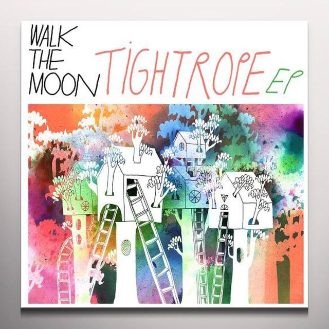Walk The Moon TIGHTROPE  (EP) Vinyl Record - Colored Vinyl, Digital Download Included