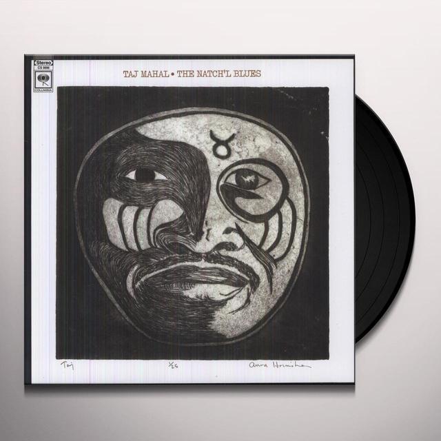 Taj Mahal NATCH'L BLUES Vinyl Record - 180 Gram Pressing