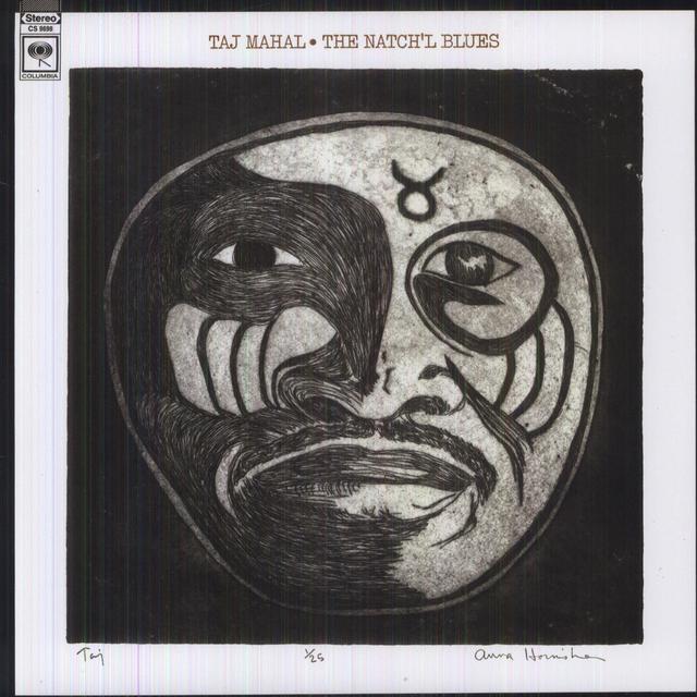Taj Mahal NATCH'L BLUES Vinyl Record