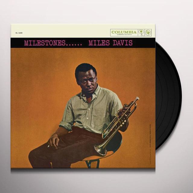 Miles Davis MILESTONES Vinyl Record - 180 Gram Pressing