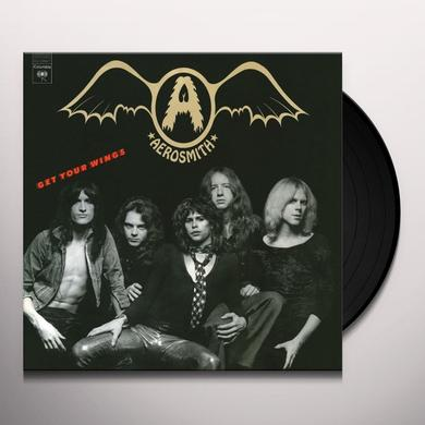 Aerosmith GET YOUR WINGS Vinyl Record