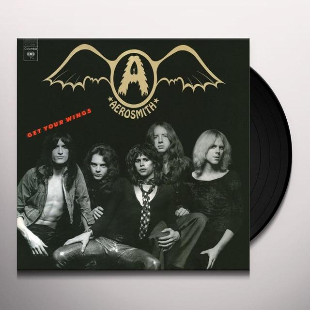 Aerosmith GET YOUR WINGS Vinyl Record - 180 Gram Pressing, Remastered