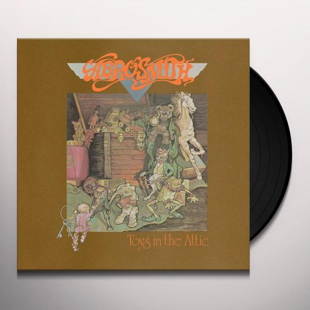 Aerosmith TOYS IN THE ATTIC Vinyl Record - Limited Edition, 180 Gram Pressing, Remastered