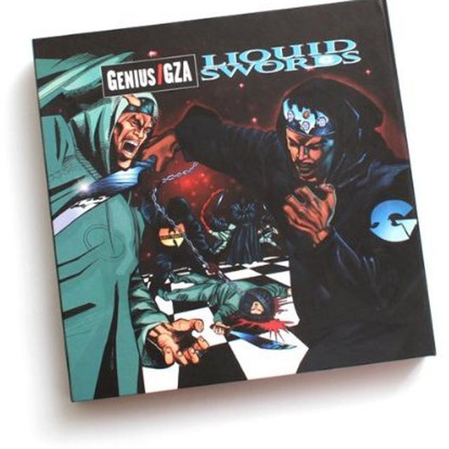 Gza LIQUID SWORDS: CHESS BOX Vinyl Record