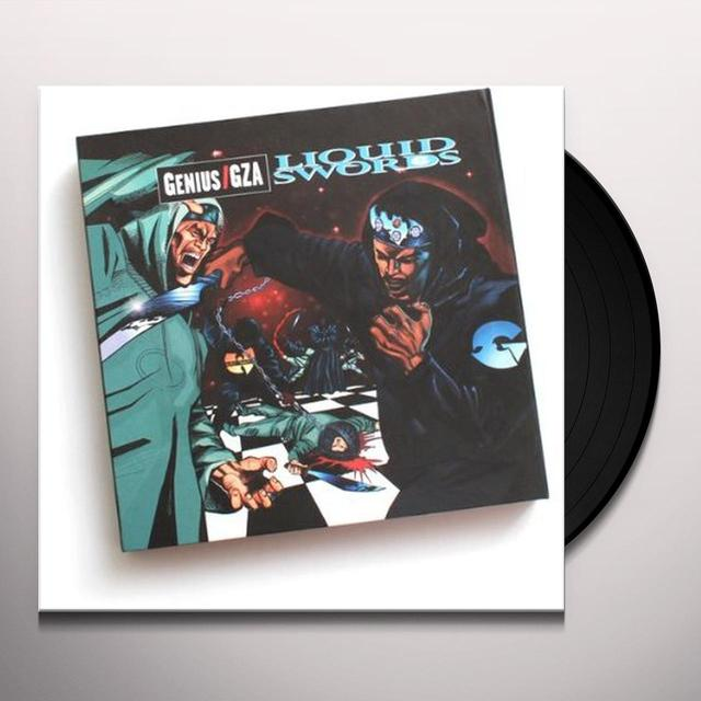 Gza LIQUID SWORDS: CHESS BOX Vinyl Record