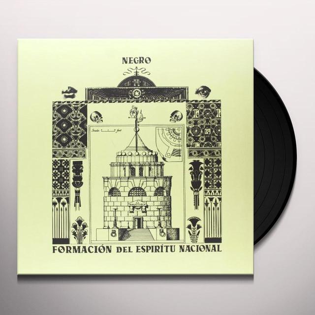 Negro FORMACION DEL ESPIRITU NACIONAL Vinyl Record