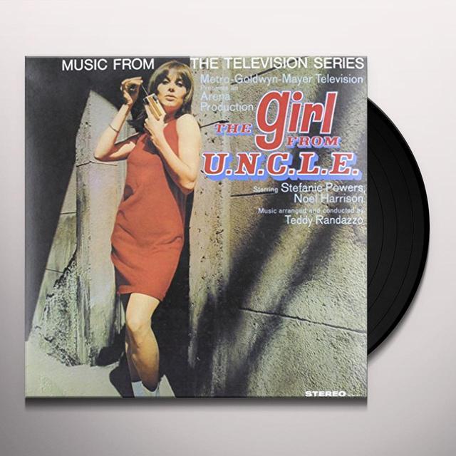 MUSIC FROM TV SERIES GIRL FROM U.N.C.L.E. / O.S.T. Vinyl Record