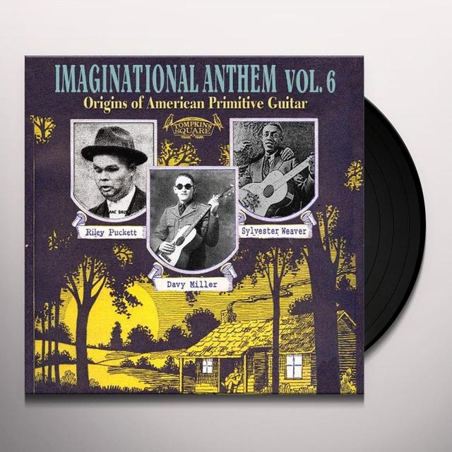 IMAGINATIONAL ANTHEM 6 / VARIOUS Vinyl Record