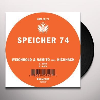 Weichhold & Namito Present Hickhack SPEICHER 74 Vinyl Record