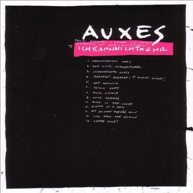 Auxes ICHKANNNICHTMEHR Vinyl Record