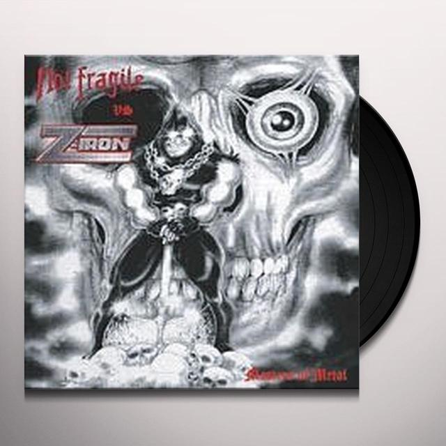 Not Fragile / Z-Iron MASTERS OF METAL Vinyl Record
