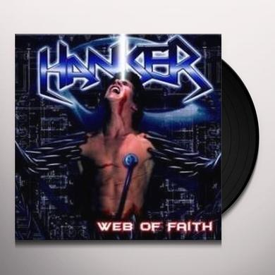 Hanker WEB OF FAITH (BONUS TRACKS) Vinyl Record
