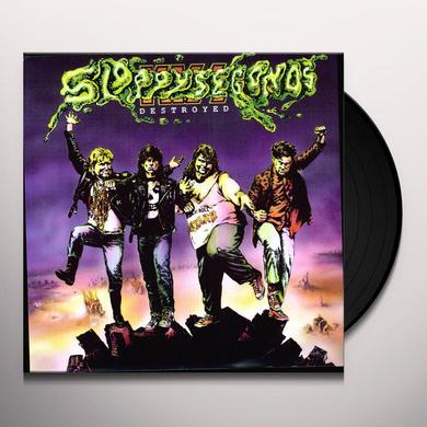 Sloppy Seconds DESTROYED Vinyl Record