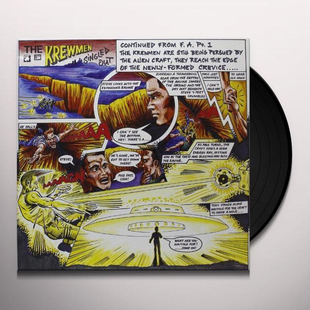 Krewmen SINGLED OUT Vinyl Record