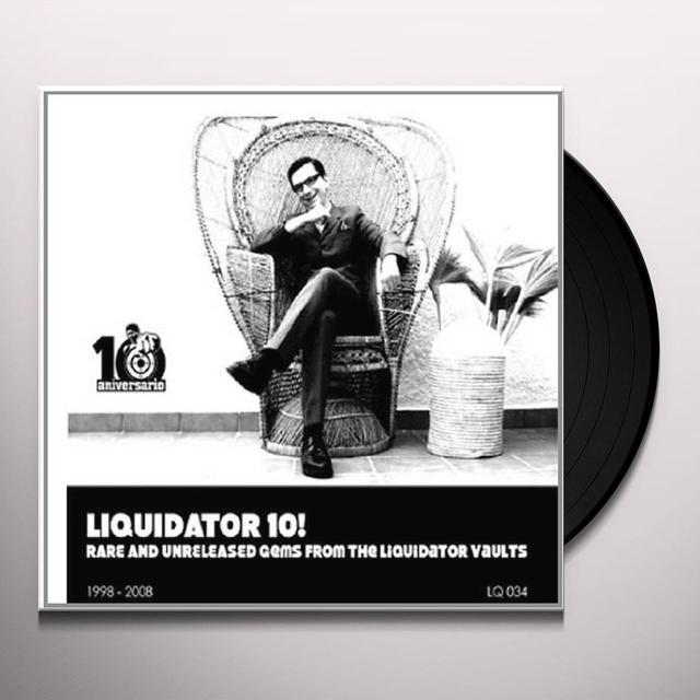 LIQUIDATOR 10 / VARIOUS Vinyl Record