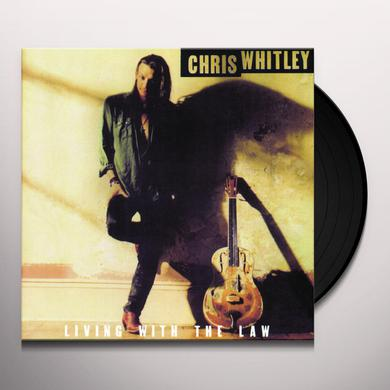 Chris Whitley LIVING WITH THE LAW Vinyl Record