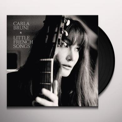 Carla Bruni LITTLE FRENCH SONGS Vinyl Record