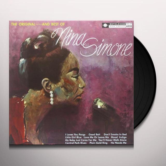 Nina Simone LITTLE GIRL BLUE Vinyl Record