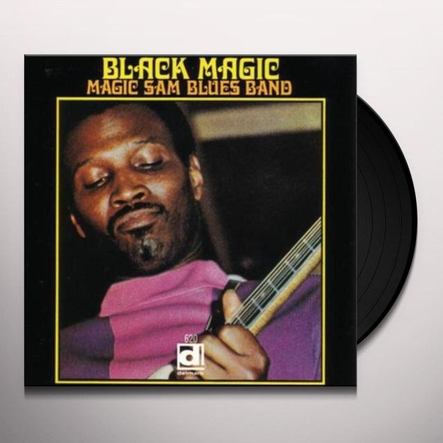 Magic Sam Blues Band BLACK MAGIC Vinyl Record
