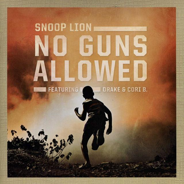 Snoop Dogg NO GUNS ALLOWED Vinyl Record