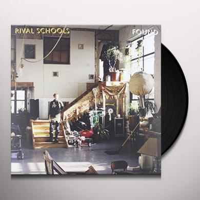Rival Schools FOUND Vinyl Record - Limited Edition, 180 Gram Pressing