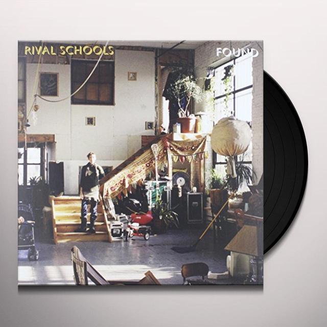 Rival Schools FOUND Vinyl Record - Limited Edition, 180 Gram Pressing