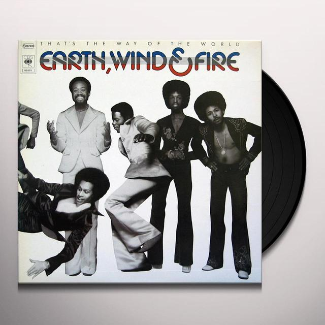Earth, Wind & Fire THAT'S THE WAY OF THE WORLD Vinyl Record - 180 Gram Pressing